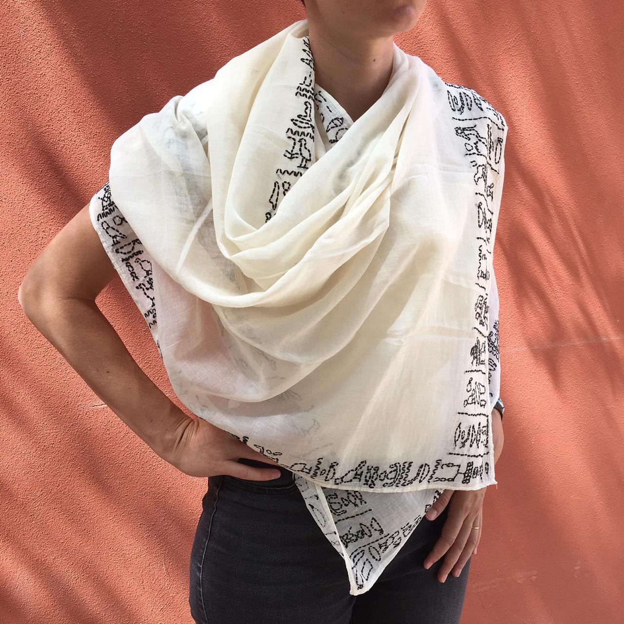 Pharaonic Shawl