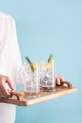 Lemon-Rosemary Vodka Soda