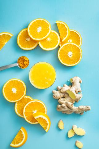 Orange, Turmeric & Ginger Immune Boost