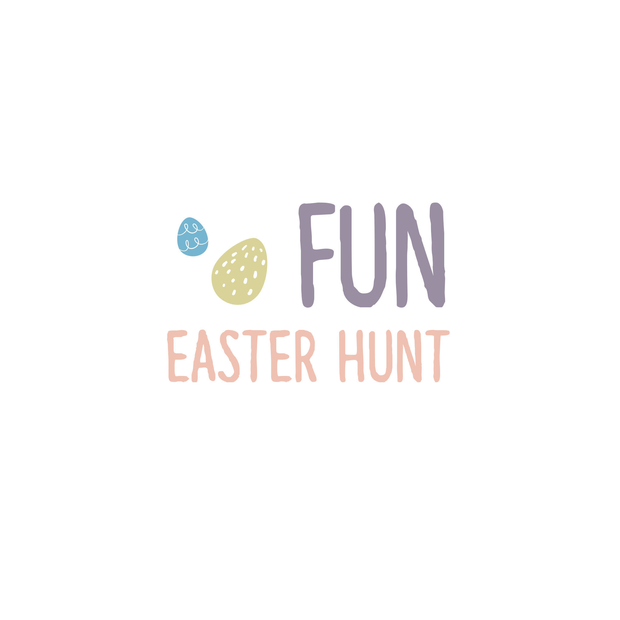 English version of the logo of the fun easter hunt document made by Les Belles Combines