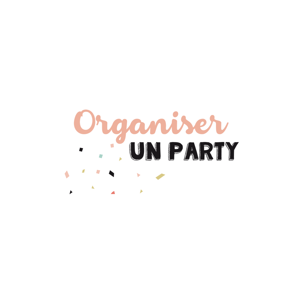 Guide «Organiser un party»
