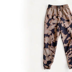 Inverse Tie Dye Fleece Joggers - Not Locally
