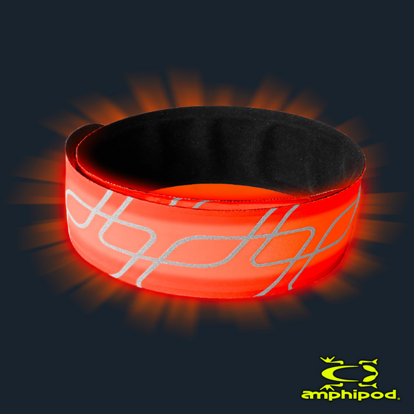 AMPHIPOD FULL-VIZ FLASHING USB SLAP BANDS