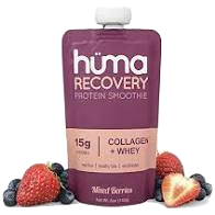HUMA ENERGY GEL RECOVERY SMOOTHIE - MIXED BERRIES