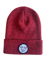 Load image into Gallery viewer, NASH RUN CO TRI STAR HEATHER BEANIE W/ CUFF