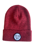 NASH RUN CO TRI STAR HEATHER BEANIE W/ CUFF