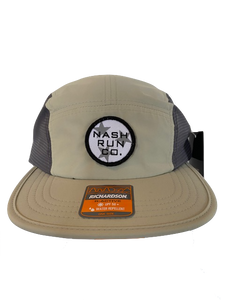 NASH RUN CO TRI STAR PATCH CAP