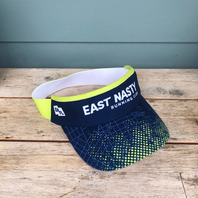 EAST NASTY RUNNING CLUB VISOR