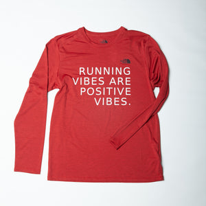 "THE NORTH FACE ""RUNNING VIBES"" LONG SLEEVE - MEN"