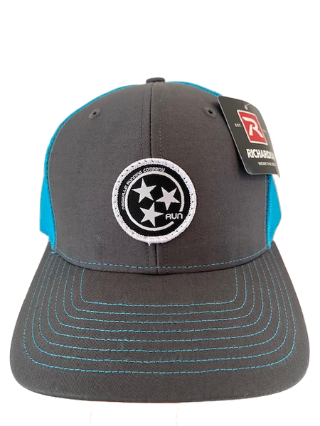 NRC TRI STAR PATCH TRUCKER HAT