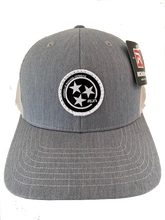 Load image into Gallery viewer, NRC TRI STAR PATCH TRUCKER HAT