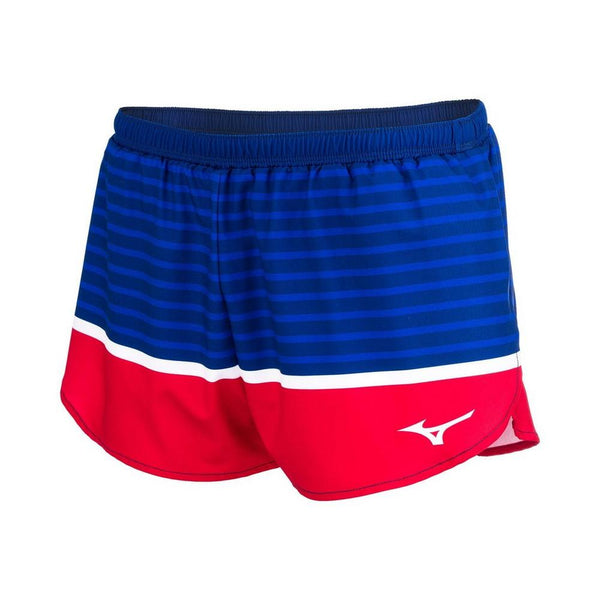"MIZUNO PATRIOTIC 2.5"" SHORT WOMEN"