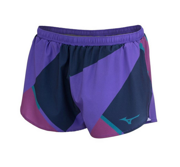 MIZUNO PRINTABLE 2.5 INCH SHORT WOMEN