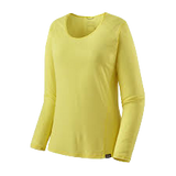 PATAGONIA LONG SLEEVE CAPILENE COOL LW SHIRT WOMEN