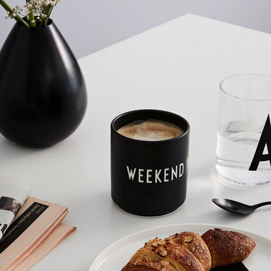 Design Letters Favourite Cups | Weekend
