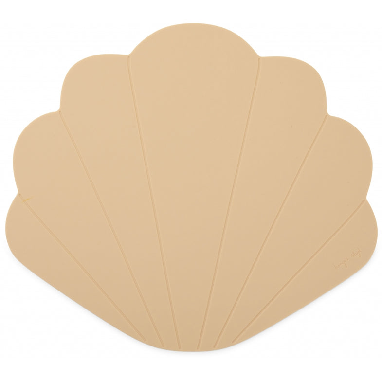 Konges Sløjd Siliconen Placemat Clam | Shell