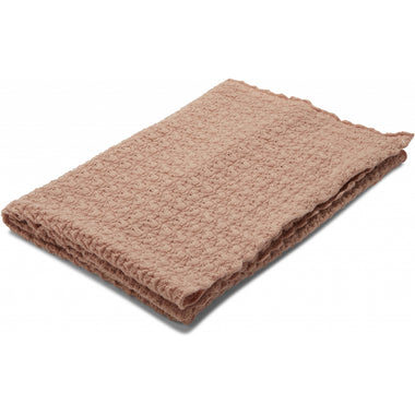 Konges Sløjd knit deken 100 x 70 cm | Rose Blush