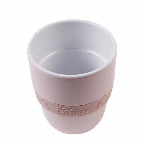 Done By Deer Melamine Drinkbeker Elphee Pink - DE GELE FLAMINGO - 1