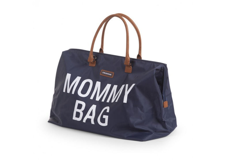 Childwood luiertas / weekendtas XL Mommy Bag marine - DE GELE FLAMINGO - 3