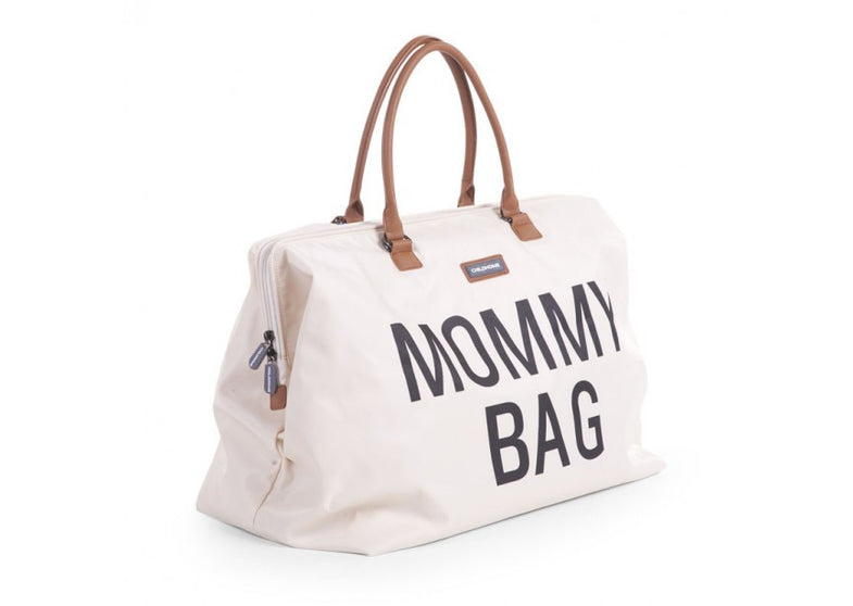Childwood luiertas / weekendtas XL Mommy Bag ecru - DE GELE FLAMINGO - 3