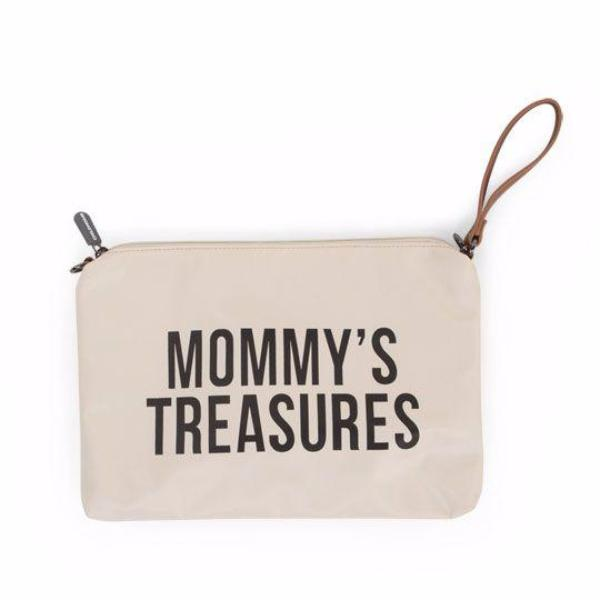 Childhome Mommy toilettas clutch Off white/black
