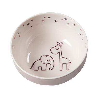 Done By Deer Melamine Bowl Mini Dreamy Dots Powder