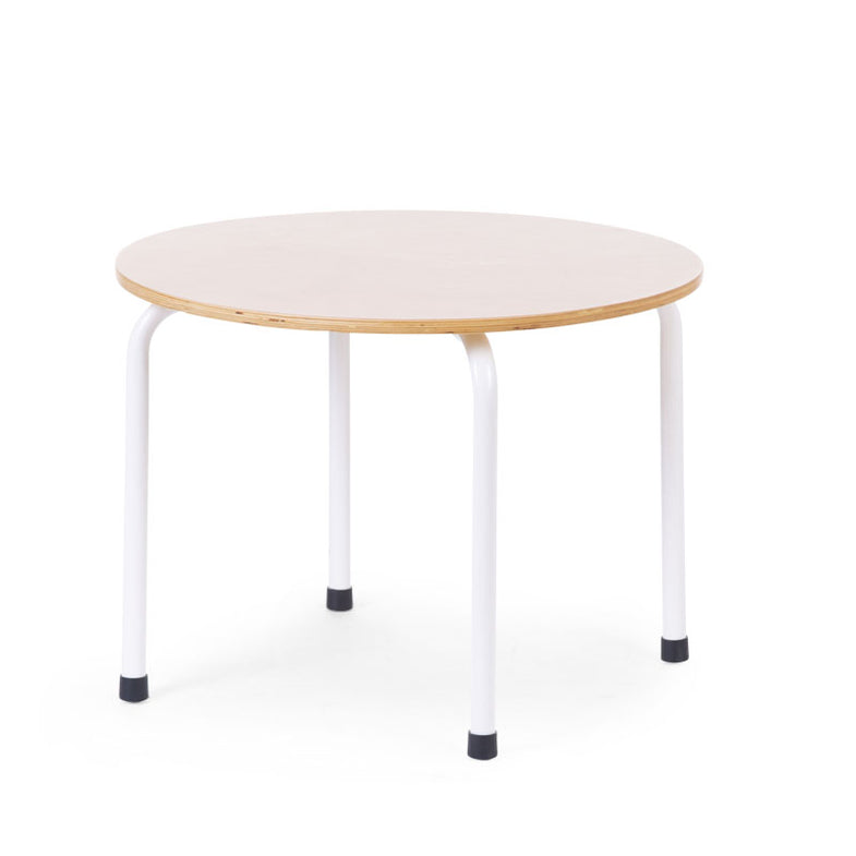 Childhome Ronde Tafel Metaal Hout Natural Wit