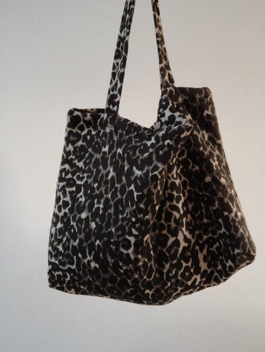 Studio Noos Mom Bag | Brown Jaguar