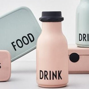 Design Letters Drinkfles Drink 330ml | Nude