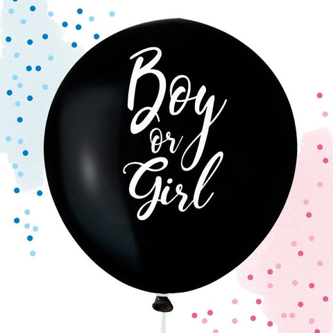 House Of Gia Boy or Girl Gender reveal ballon
