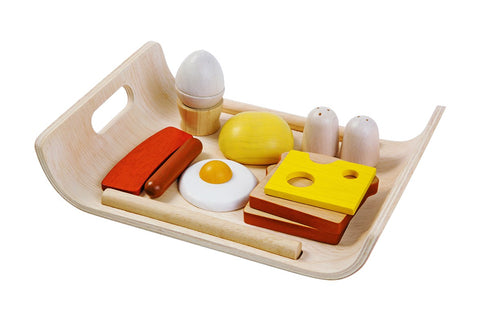 Plantoys houten Breakfast menu