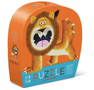 Crocodile Creek puzzel 12 stukken - Lion Roar