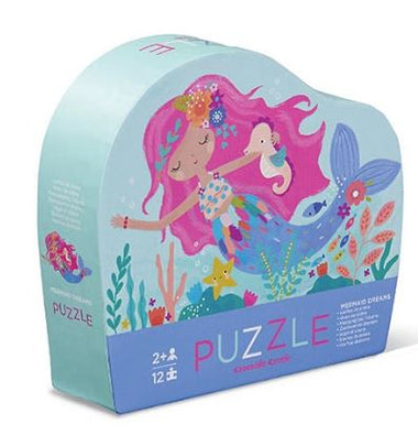 Crocodile Creek puzzel 12 stukken - Mermaid Dreams
