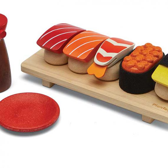Plantoys houten Sushi Set