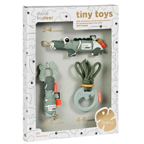 Done By Deer Tiny Toys - set 3 Gift Set - Tiny Tropics