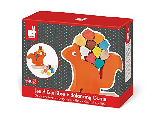 Janod nutty balance squirrel - DE GELE FLAMINGO - 2