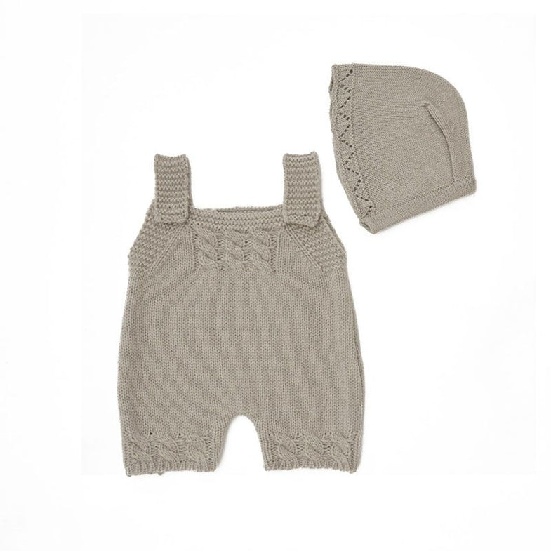 By Astrup Jumpsuit + Muts Light grey