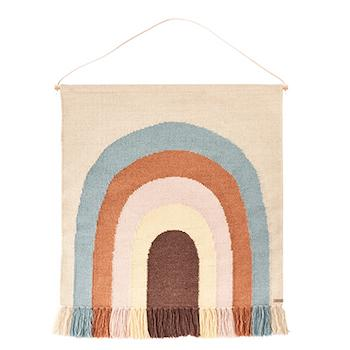 OYOY Living Follow The Rainbow Wall Rug