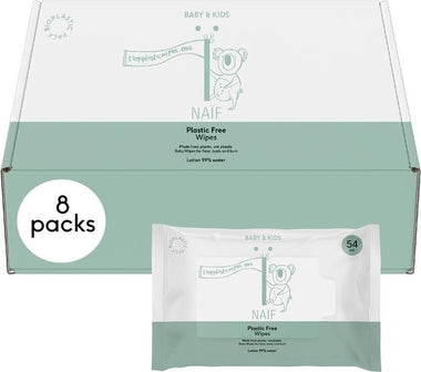 Naïf Plastic Free Wipes