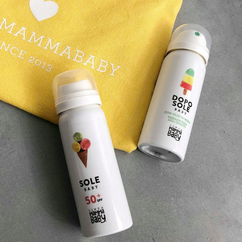 Linea Mamma | Baby Sun Travel set SOLE