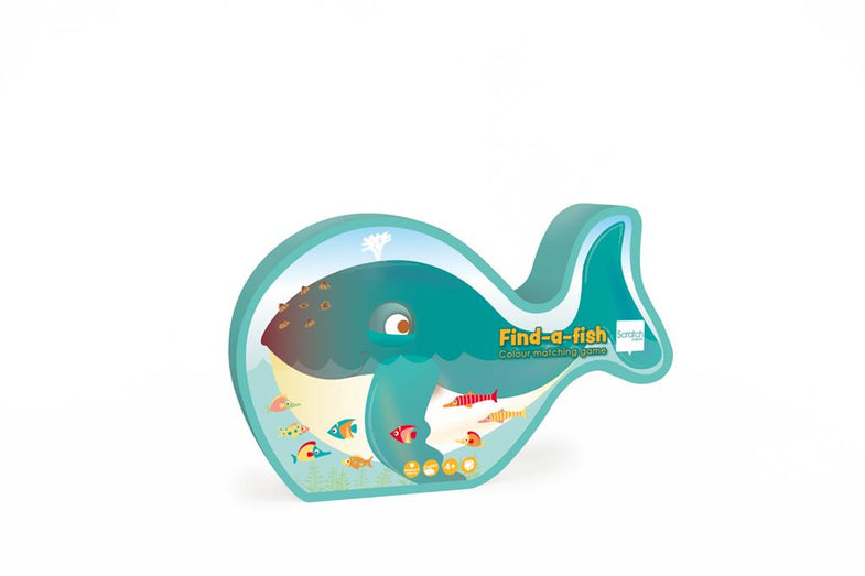 Scratch Kleurenspel | Find-a-fish