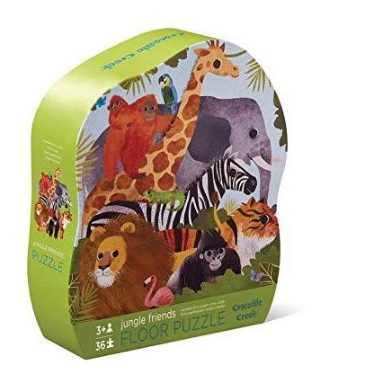 Crocodile Creek puzzel 36 stukken - Jungle Friends
