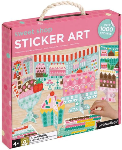 Petit Collage Knutselset stickers | Sweet Shop