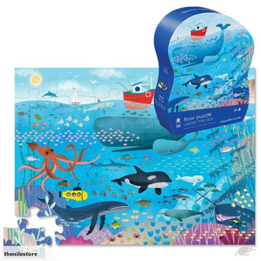Crocodile Creek puzzel 36 stukken - Under the sea