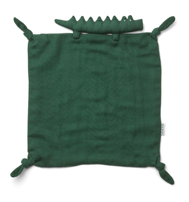 Liewood Agnete Cuddle Cloth Crocodile | Garden Green