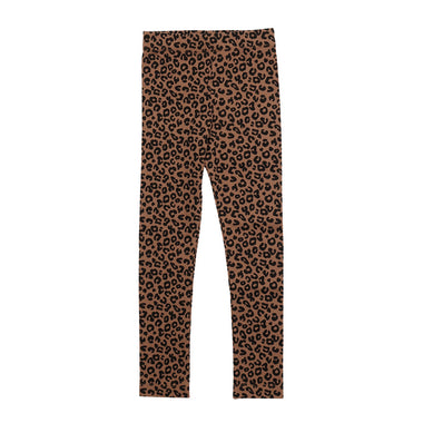Maed For Mini Legging | Chocolate Leopard
