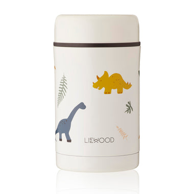 Liewood Bernard Food Jar 500ml | Dino Mix