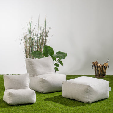 Laui Lounge Basic Square Outdoor I Ash Grey