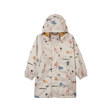 Liewood Blake Long Raincoat | Safari Sandy Mix