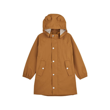 Liewood Blake Long Raincoat | Mustard